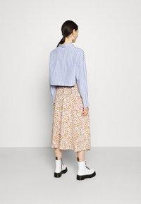 Monki - SIGRID BUTTON SKIRT - A-line skirt - rose - 2