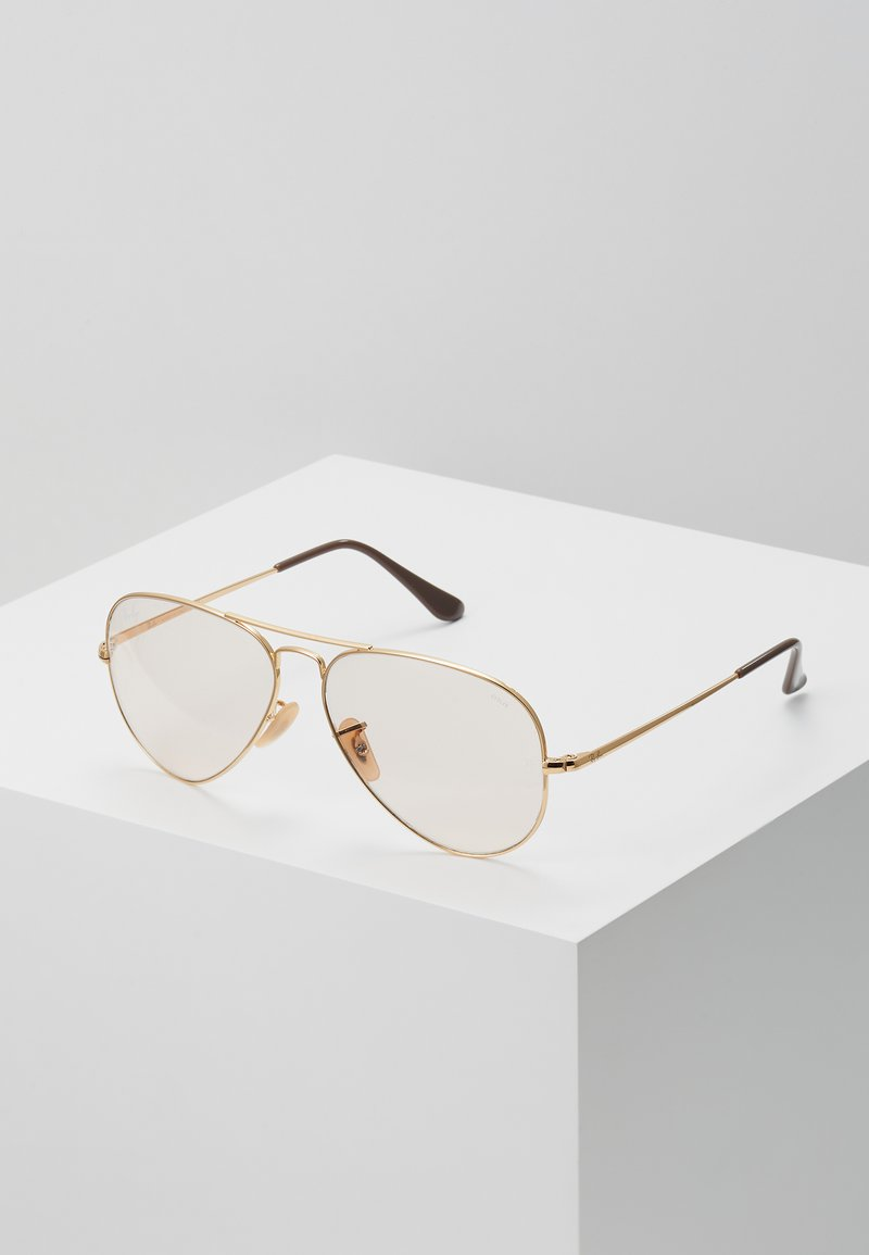 Ray-Ban - Sunglasses - gold-coloured/pink