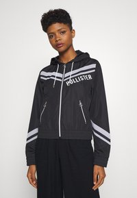 Hollister Co. - Windbreaker - black - 0