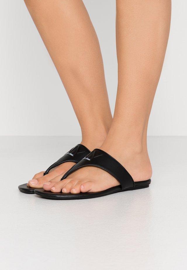 SABRE - T-bar sandals - black