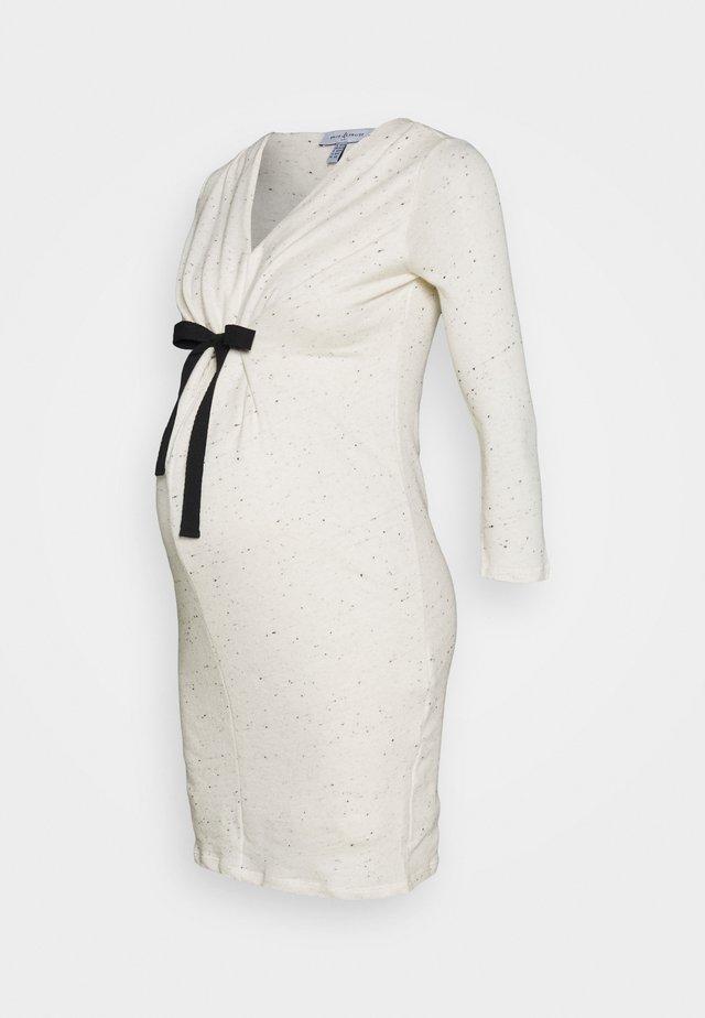 MELO - Jumper dress - off white