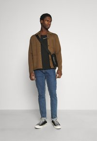 Calvin Klein Jeans - MICRO BRANDING TANK - Top - black - 1