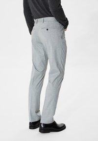 Selected Homme - Puvunhousut - light grey melange - 2