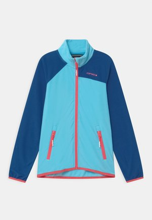 KERSEY UNISEX - Fleece jacket - aqua