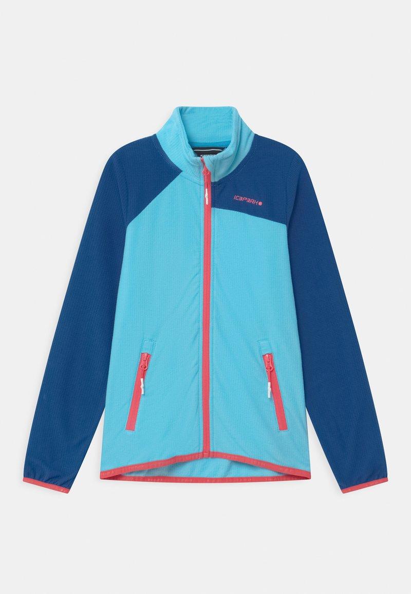 Icepeak - KERSEY UNISEX - Fleece jacket - aqua