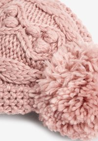 Next - CABLE  SET - Beanie - pink - 4