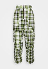 The Ragged Priest - GRANGER - Trousers - green/white - 3