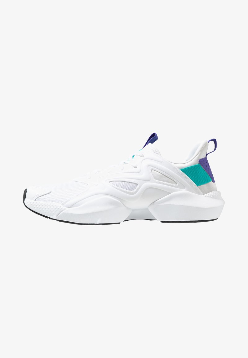 Reebok - SOLE FURY ADAPT - Neutral running shoes - white/solid teal/ultra purple