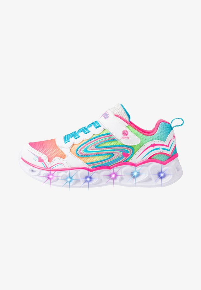HEART LIGHTS - Sneakers laag - white/multicolor sparkle