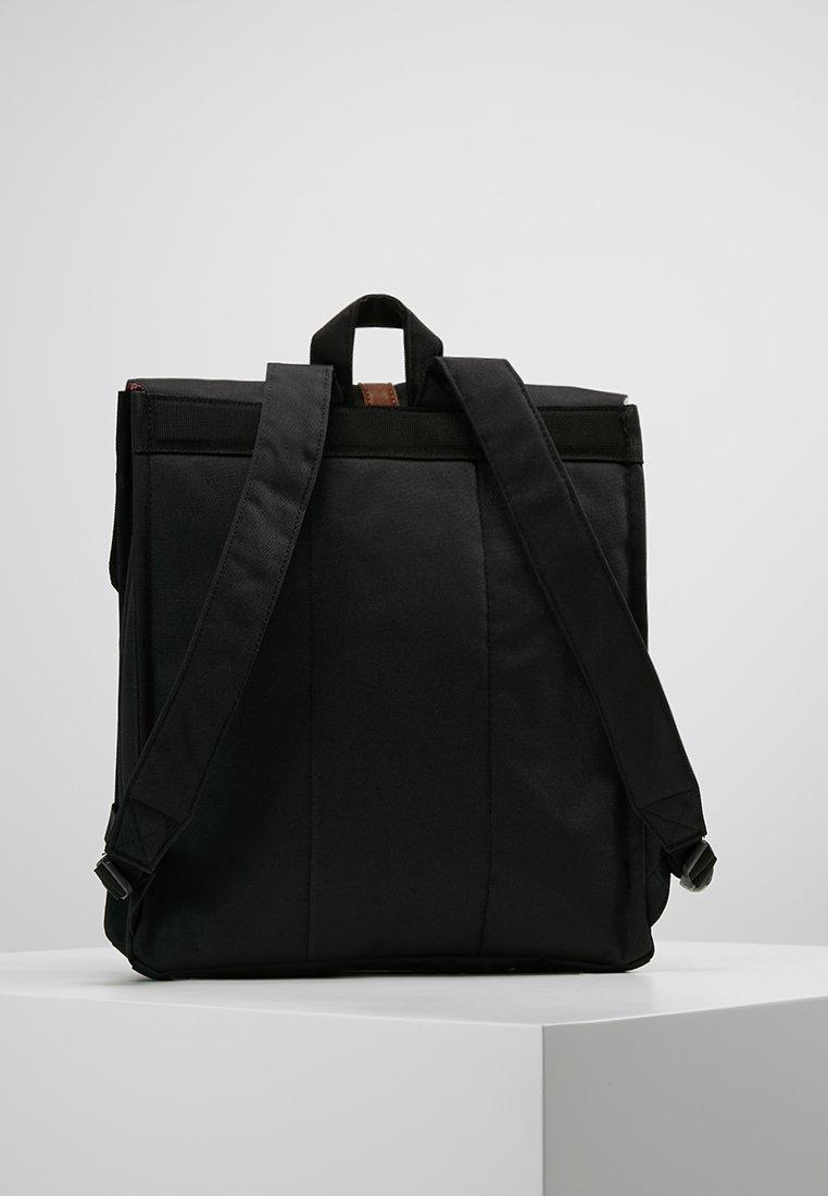 Herschel CITY MID VOLUME - Tagesrucksack - black/tan/schwarz - Herrentaschen vrPE6
