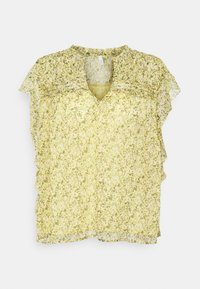 Pepe Jeans - T-shirts med print - yellow - 0