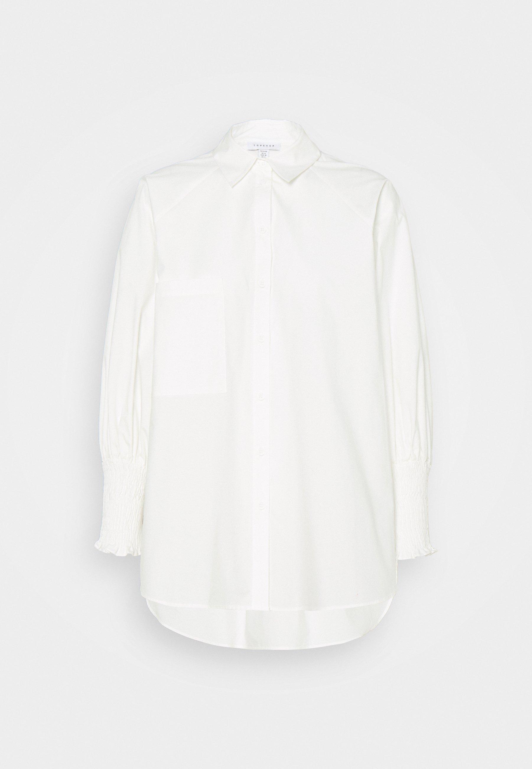 Women SHIRRED CUFF - Button-down blouse