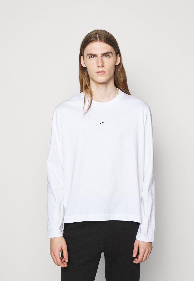 Holzweiler - HANGER LONGSLEEVE - Long sleeved top - white