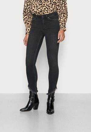 DAX HEM - Jeansy Skinny Fit - washed black