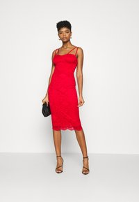 WAL G. - TYLER BODYCON DRESS - Cocktail dress / Party dress - red - 1