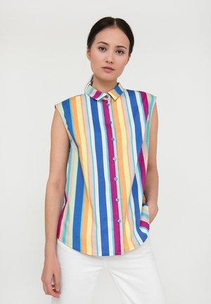 Button-down blouse - marigold