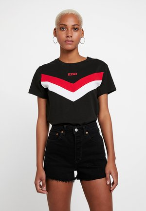 FLORENCE TEE - T-shirt imprimé - meteorite