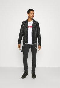 Tigha - BONE - Leather jacket - black - 1