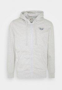 Schott - Zip-up hoodie - heather grey - 4