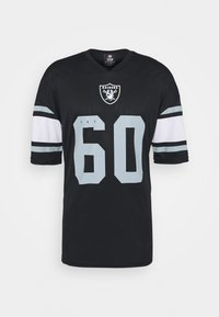Fanatics - NFL OAKLAND RAIDERS ICONIC FRANCHISE SUPPORTERS JERSEY - Top - black - 4
