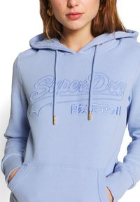 Superdry - OUTLINE ENTRY  - Hoodie - blue heron - 5