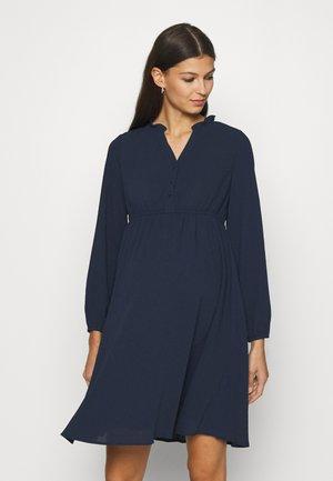 VMMAYA V-NECK DRESS - Vestido informal - navy blazer