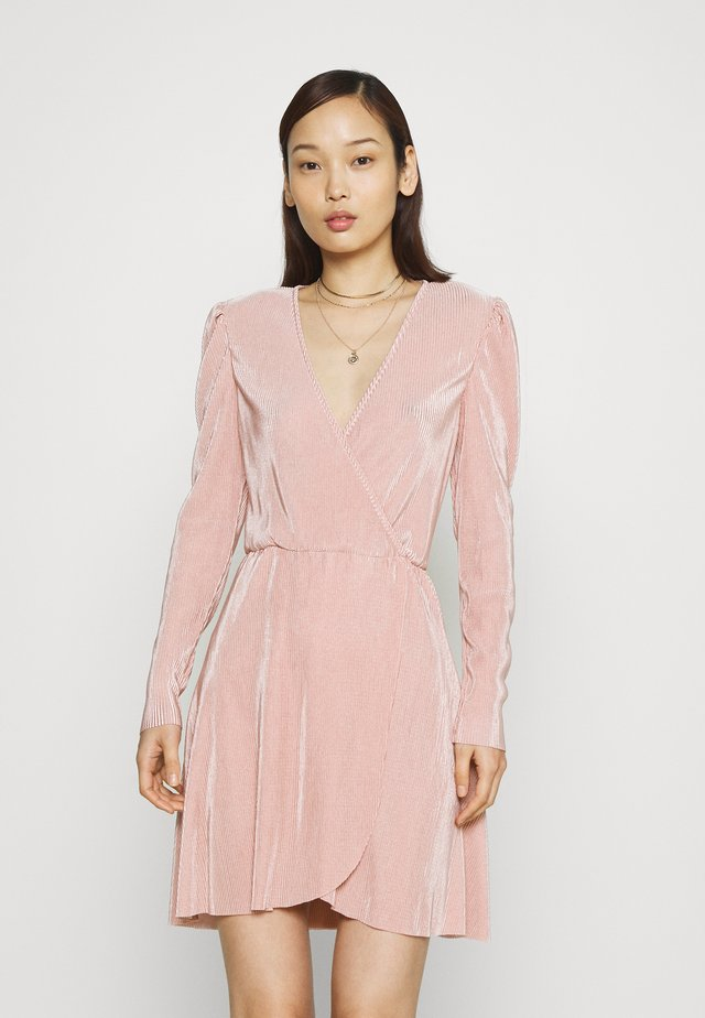 ALL I NEED PLEAT DRESS - Cocktail dress / Party dress - dusty pink