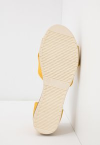 Anna Field - LEATHER - Sandals - yellow - 6