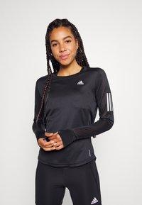 adidas Performance - TEE - Treningsskjorter - black - 0