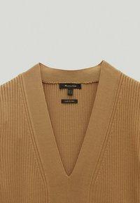 Massimo Dutti - Jumper dress - brown - 3