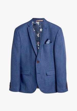 TEXTURED BLEND - Blazer jacket - mottled blue