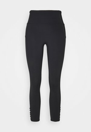 REJUVENATE YOURE A PEACH - Leggings - black