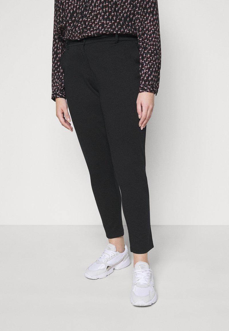 Pieces Curve - PCFIE PANTS - Trousers - black