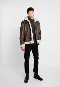 Schott - Leather jacket - brown - 1