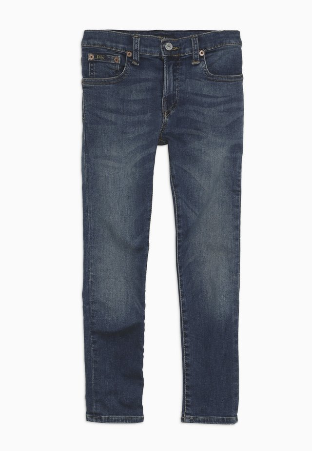 ELDRIDGE BOTTOMS - Jeans Skinny Fit - aiden wash
