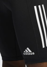 adidas Performance - FOR THE OCEANS PRIMEBLUE TECHFIT SHORT TIGHTS - Pantalón corto de deporte - black - 4
