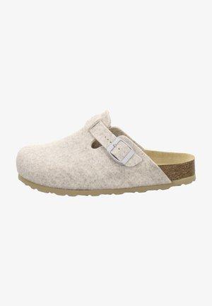 FILZHAUSSCHUH - Slippers - beige