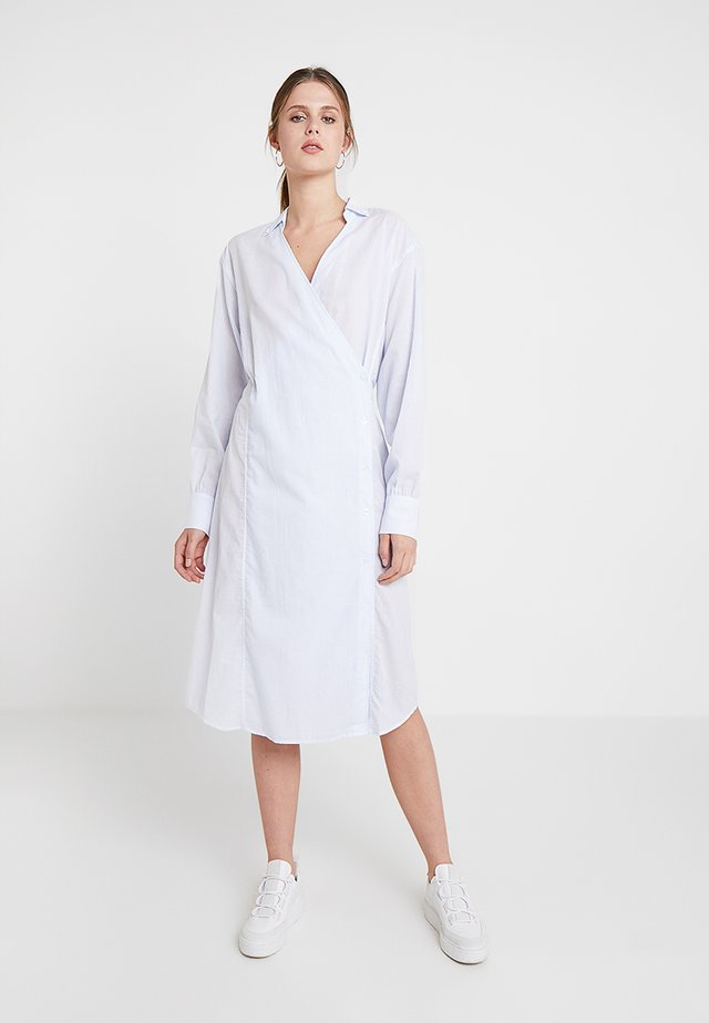 ALORA - Shirt dress - blue