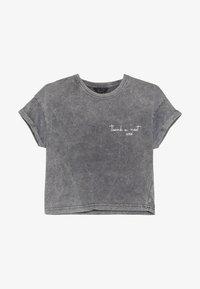 New Look 915 Generation - THANK U NEXT SLOGAN TEE  - Print T-shirt - dark grey - 2
