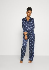 Lauren Ralph Lauren - SET - Pigiama - dark blue - 1