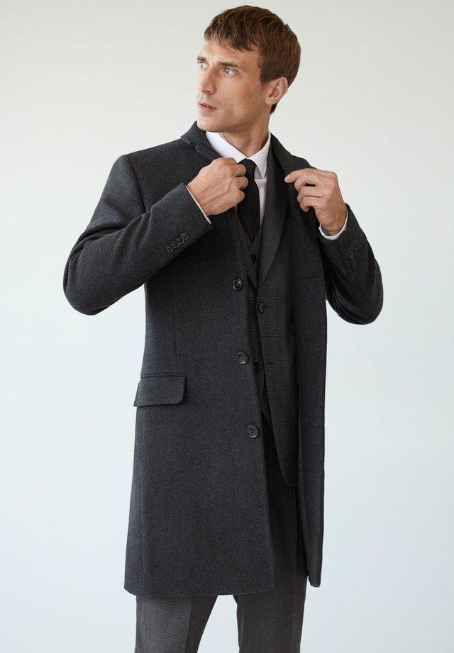 Classic coat - grijs
