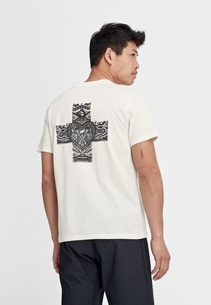 SEILE - Print T-shirt - bright white prt