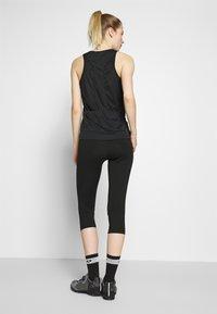 Ziener - NABIR X-GEL - 3/4 sportovní kalhoty - black - 2