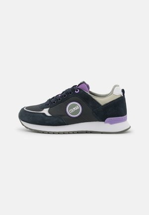 TRAVIS COLORS - Trainers - anthracite/lilac/dusty green