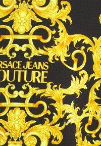 Versace Jeans Couture - PRINT LOGO BAROQUE - Zip-up sweatshirt - black - 7
