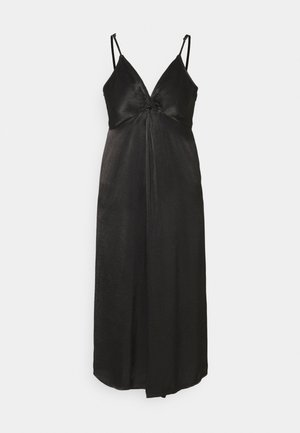 YASBRANDI STRAP MIDI DRESS - Cocktail dress / Party dress - black