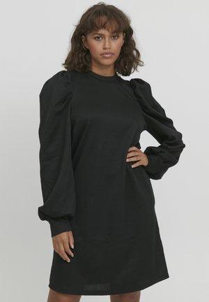 PZDUNNE - Gebreide jurk - black beauty
