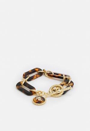 LINK FLEX - Bracelet - gold-coloured/tort