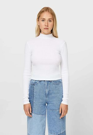 MIT MODISCHEM PATENTMUSTER - Jumper - white