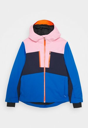 JUNIORS SNOW ROCK JACKET - Lyžařská bunda - arub blue/bal pink